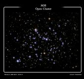 M35 Open Cluster