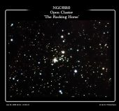 NGC6910 - Open Cluster - The Rocking Horse