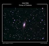 NGC7331 group of galaxies