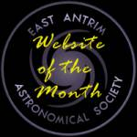 It pleases me greatly that THE FIRMAMENT was honoured by EAAS as Website of the month: July 2004