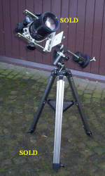EQ-1 Travel mount (Sold)