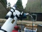 Telescope with camera